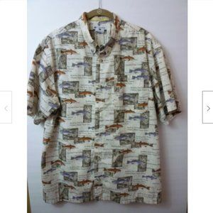 Columbia River Lodge Mens Size Large Casual Shirt
